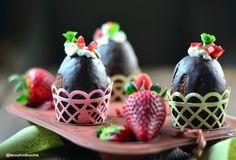 So fluffy, so delicious! Perfect for Easter breakfast. So simple you are still on time to prepare them... http://www.taccuinodicucina.it/blog/ovetti-sofficissimi-per-augurarvi-buona-pasqua/