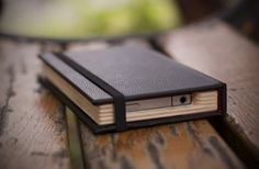 Little Black Book -> Moleskine iPhone case