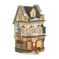 Department 56 New England Village Plainfield Sign Co Lit House 721Inch * Read more reviews of the product by visiting the link on the image.