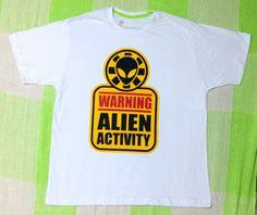 "Camisa ""Alien Activity"""