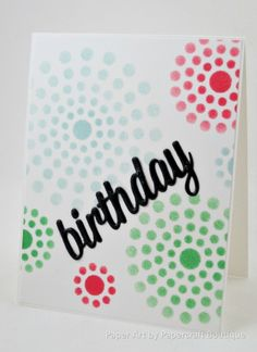 PPA291 - birthday