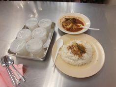 Asam pedas in Melaka at Asam Pedas Selara Kampung restaurant.