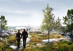 schmidt hammer lassen Designs Mixed-Use Development in Central Stockholm,Courtesy of schmidt hammer lassen architects