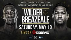 WBC Heavyweight Champion Deontay Wilder takes on mandatory challenger Dominic Breazeale fight LIVE STREAM. Sat , May Watch Now. Boxing Gym, Boxing Training, Boxing News, Wrestling Live, Watch Wrestling, Boxing Live Stream, Deontay Wilder, Boxing Online, Boxing
