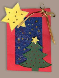 Xmas Cards, Four Seasons, Advent Calendar, Crafts For Kids, Preschool, Education, Holiday Decor, Winter, Christmas