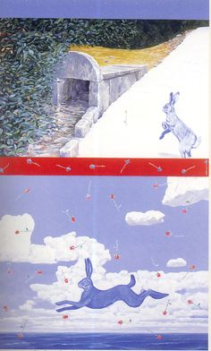 """risto suomi, """"song of orpheus,"""" 1988, acrylic. from form function finland (1992), issue 1."""