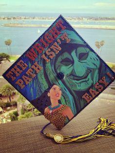 This Grad got it Wright. Disney Graduation Cap idea!