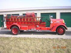 1938 Seagrave Fire Truck.
