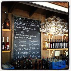 The original tasting bar at Malibu Wines (Via @VivaLAFoodies)
