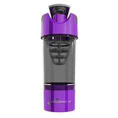 ☆☆☆THREE (3) PURPLE CYCLONE CUP 20oz Protein Workout Shaker Blender Mixer Bottle
