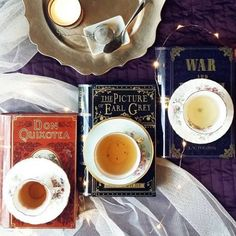 """Aren't these gorgeous? Tea tins shaped like classic books! I've backed their kickstarter to get """"Pride and Peppermint"""" already ;) head over to @novelteatins for a chance to win one,  I'm dreaming of """"The Picture of Earl Grey"""" #earlgreytea #chaitea #peachtea #giveaway #tealover #novelteas #shelftea #booksandtea #novelteatins"""