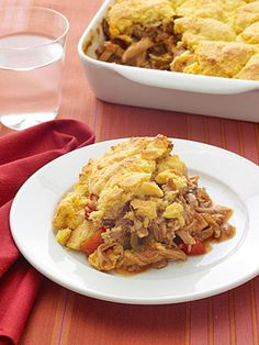 Cornbread-Topped BBQ Chicken