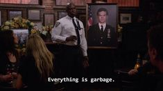 Tv Show Quotes, Film Quotes, Cute Memes, Funny Memes, Reaction Pictures, Funny Pictures, Cult, Senior Quotes, Brooklyn Nine Nine