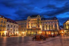 View photos of and learn more about Old Town Bratislava's sights. These sightseeing attractions in Bratislava are must-sees! Places Ive Been, Places To Go, Danube River Cruise, Plan My Trip, Bratislava Slovakia, Most Beautiful Cities, Eastern Europe, Capital City, Old Town