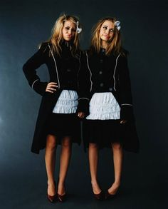 Mary Kate and Ashley Olsen... So cute
