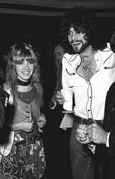 Stevie Nicks and Lindsey Buckingham. Love.
