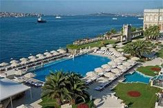 Things To Do In Istanbul –Çiragan Palace Swimming Pool. Hg2Istanbul.com.