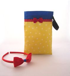 Snow White Party Favor Bags with Red Headband Favor by FavorWrap, $5.25