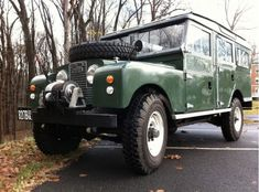 1958 Land Rover Series 1 Station Wagon 107 For Sale Front