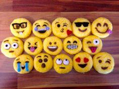 Emojis made for a Brownie workshop  Www.facebook/feltsforever