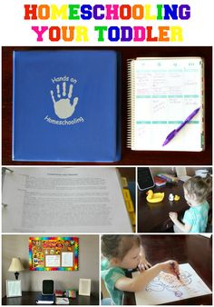 Hands on Homeschooling. SUCH a great resource on how to homeschool your toddler with a great tot school curriculum!