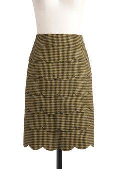 Teaching Assistant Skirt, #ModCloth