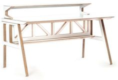 Context Furniture Truss Library Desk   2Modern Furniture & Lighting