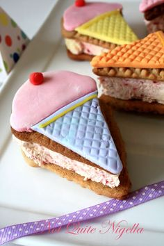 Ice Cream Sandwich Cookies