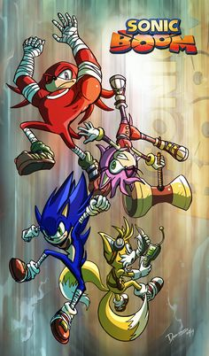 SONIC BOOM Generation by darkspeeds.deviantart.com on @deviantART