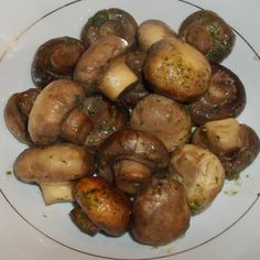 I love mushrooms, and especially enjoy them cooked in the crock-pot along with butter and a packet of ranch dip mix. I serve these delicious tasting mushrooms as a side dish.