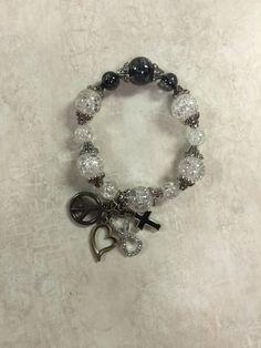One Love Bracelet by BooBooBearJewelry on Etsy
