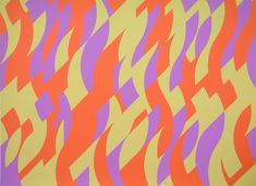 A selection of Bridget Riley's paintings presented in chronological order. To find out more about the artist, please see the Bridget Riley biography Moma, Bridget Riley, Paris 11, Hard Edge Painting, Paris Ville, Abstract Lines, Abstract Art, Art Moderne, Op Art