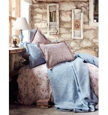 Karaca Home Patara Indigo Mavi Ranforce Çift Kişilik Complete Takım