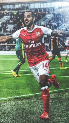 Soccer Tips. One of the greatest sports on this planet is soccer, also referred to as football in most countries. Arsenal Fc, Arsenal Players, Good Soccer Players, Football Players, Theo Walcott, Premier League Soccer, Match Of The Day, Soccer Workouts, Sports