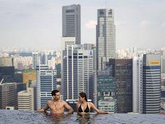 Marina Bay Sands Hotel in Singapore
