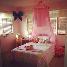 DIY Bed Canopy Hula Hoop Ideas