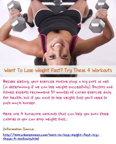 want to lose weight fast try these 4 workouts  for