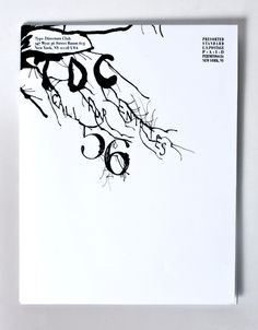 Type Directors Club Call for Entries Poster & Mailer by Sixto-Juan Zavala, via Behance