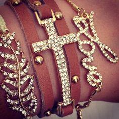 Bracelets from Ava Adorn