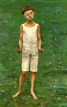 Adoration I, Switzerland, date unknown (19th century), by Ferdinand Hodler.