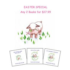 It's here! Easter Special   ... Find it at http://www.fishcreekproductions.com/products/the-little-lamb-easter-special-25-savings-1?utm_campaign=social_autopilot&utm_source=pin&utm_medium=pin