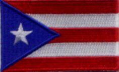 the Puerto Rico Store - Puerto Rico Small Flag Patch, $1.29 (http://www.thepuertoricostoreonline.com/products/puerto-rico-small-flag-patch.html)