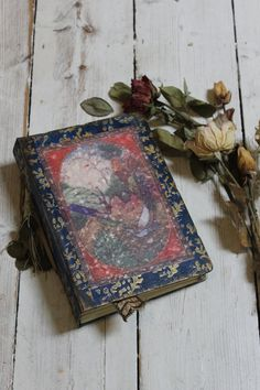 Handmade Mughal art inspired journal or by LotusBluBookArt on Etsy