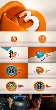 STYLEFRAMES C13 by Sulfurica Motion Design, via Behance