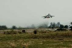 A California Air National Guard F-15C Eagle takes off from the flightline on Graf Ignatievo, Bulgaria, Sept. 8, 2016. Four of the 194th Expeditionary Fighter Squadron's F-15Cs will conduct joint NATO air policing missions with the Bulgarian air force to police the host nation's sovereign airspace Sept. 9-16, 2016. The squadron forward deployed to Graf Ignatievo from Campia Turzii, Romania, where they serve on a theater security package deployment to Europe as a part of Operation Atlantic…