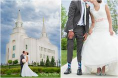 Alissa and Brad {Kansas City LDS Temple Wedding Photography} - A Day to Adore