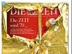 DIE ZEIT wird 70 Jahre alt. Wir gratulieren!