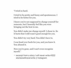 This is extremely powerful! Hurt Quotes, Sad Love Quotes, Poem Quotes, Words Quotes, Wise Words, Life Quotes, Poems, Sayings, Breakup Quotes