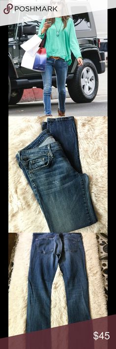 """🌹citizens of humanity stretch skinny jeans 🌹 🌹Alessandra Ambrosio in Citizens of Humanity Rocket Skinny Jeans mines have tiny distressed part of the style of citizen of Humanity super stretchy and comfy 98% cotton and 2% polyurethane inseam measures 29"""" inches waistline 17 1/2 & rise 7"""" inches  perfect condition no sign of wear promise 🌹 Citizens of Humanity Jeans Skinny"""