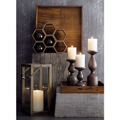 Hexa Stacking Wine Rack in Bar Accessories Home Bar Accessories, Art Decor, Home Decor, Decoration, Crate And Barrel, Candle Sconces, Wood Crafts, Crates, Lanterns